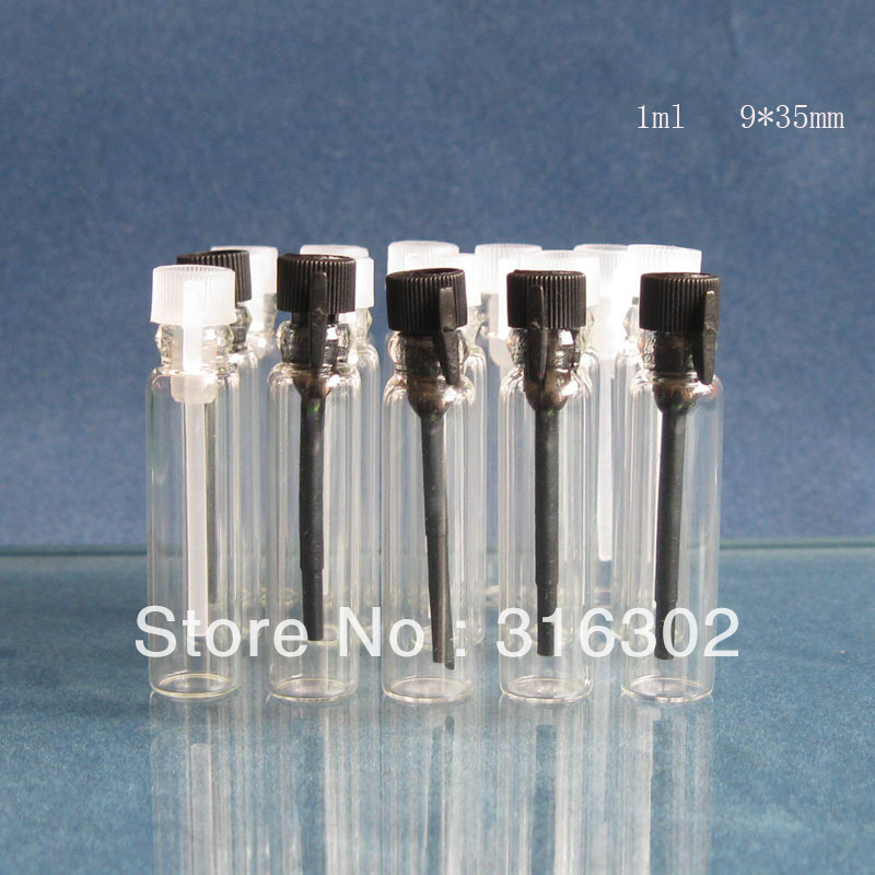 [해외]500 X 1ml의 빈 미니 향수 샘플 유리 유리 병 병 작은 유리 용기/500 x 1ml Empty  Mini Perfume Sample Glass Vial Bottles Small Glass Container
