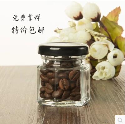 [해외]결혼식을 위해 저장 탱크 꿀 유리 항아리를 밀봉 꿀 식품 저장 탱크의 10PCS / 많은 45 ㎖ 투명 유리 병 잼 항아리/10pcs/lot 45ml transparent glass bottles jam jars of honey Food storage tank