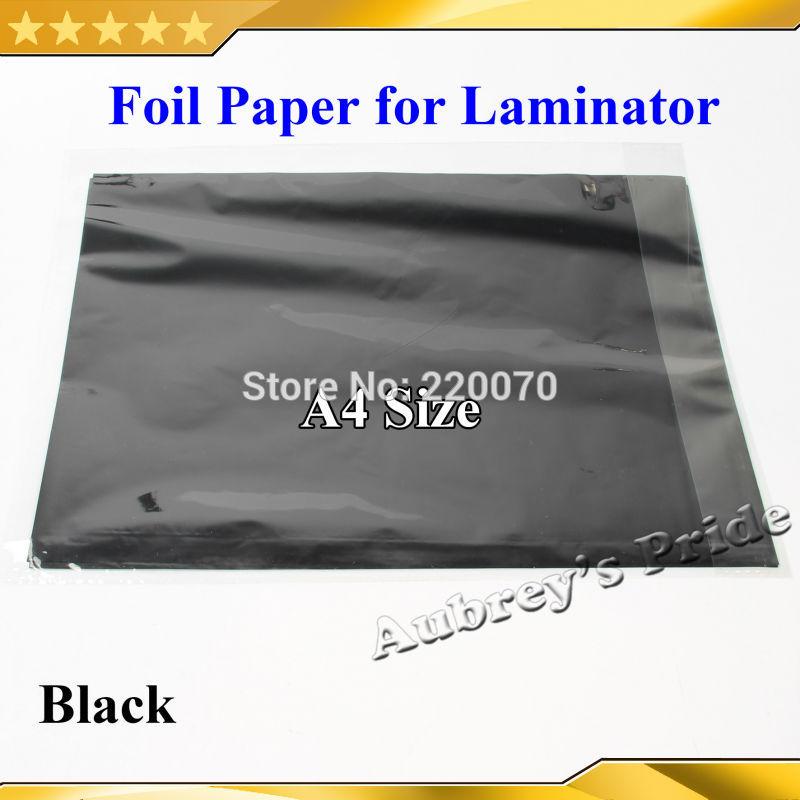[해외]50 PC를 블랙 저렴한 씬 20x29Cm A4 핫 스탬핑 포일 종이 라미네이터 라미네이팅 옮겼다 우아함 레이저 프린터/50 Pcs Black  Cheap Thin 20x29Cm A4  Hot Stamping Foil Paper Laminator Laminati