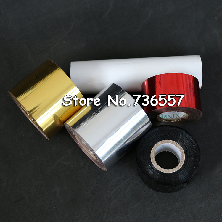 [해외]2 롤 (금 slilver) 핫 포일 스탬핑 종이 열 전송 양극 노란 종이 6cm / 8cmShipping 비용 요금/2 Rolls(gold and slilver) Hot Foil Stamping Paper Heat Transfer Anodized Gilded