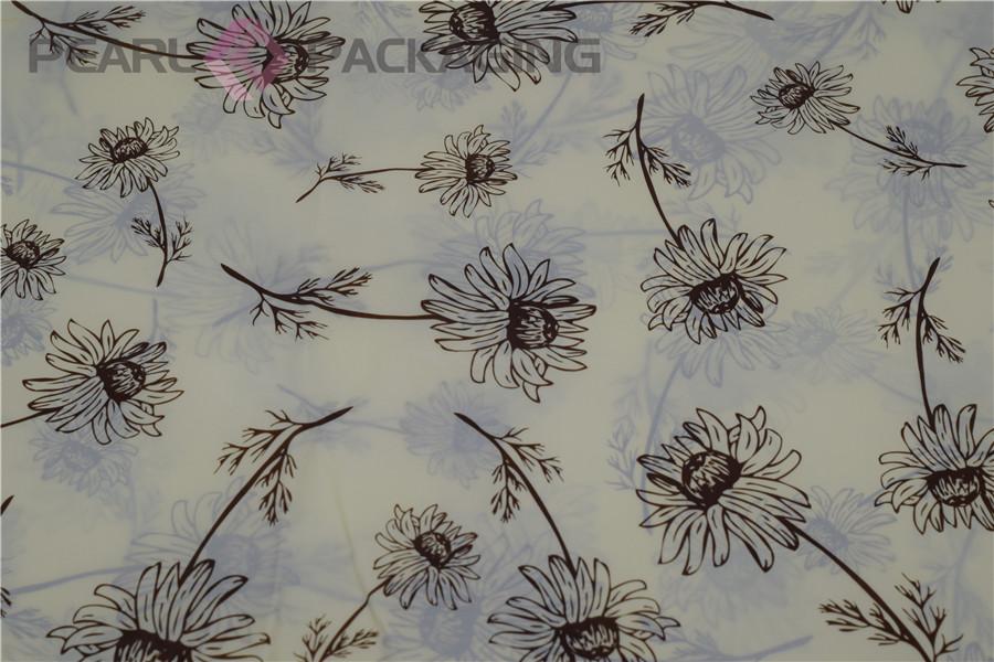 [해외]화려한 꽃 선물 포장 및 선물 포장 조직, 50x40 센티미터, 500PCS / 많은/Gorgeous Flowers Gift Packaging and Gift Wrapping Tissue, 50x40 cm, 500pcs/lot,