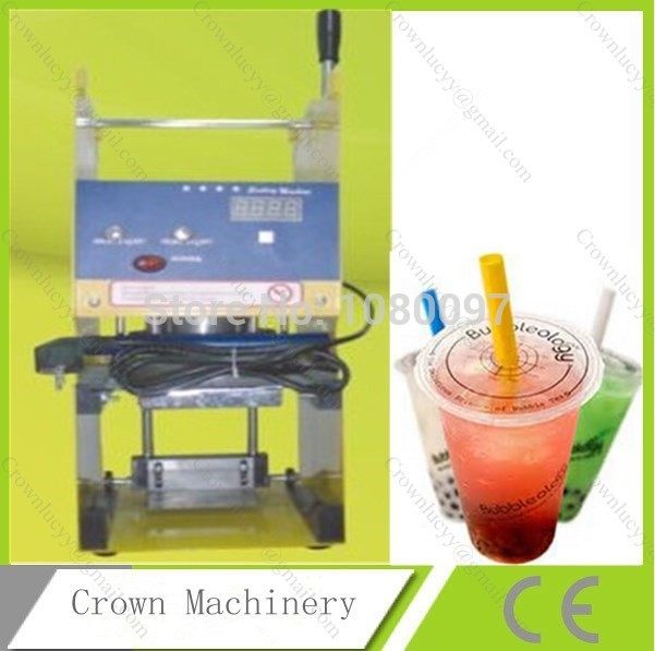 [해외]디지털 매뉴얼 컵 씰링 기계/Digital manual cup sealing machine
