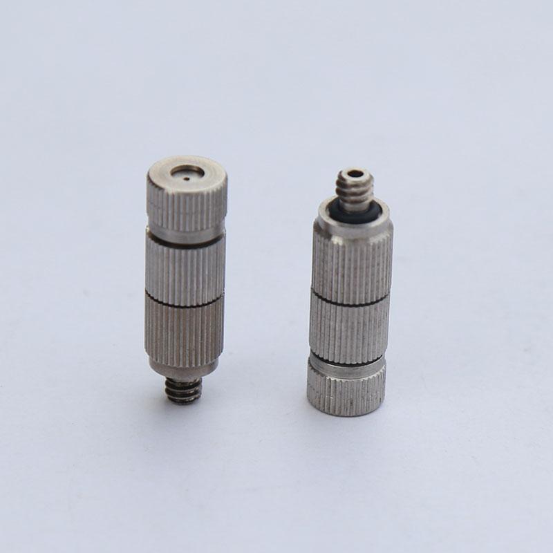 [해외]?(20 개 / 많이) 3- / 16 304 스테인레스 스틸 고압 안개 연무 노즐, 가습 및 냉각 및 실외/ ( 20 pcs/lot ) 3/16&304 stainless steel high pressure fog misting nozzle , humidifica