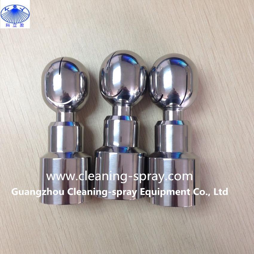 [해외]1-1 / 4 BSPP 스레드 360도 회전 탱크 세척 노즐/1-1/4& BSPP thread 360 degree rotating tank cleaning nozzle