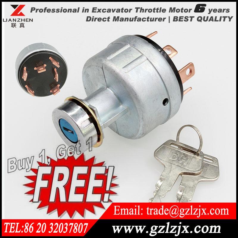 [해외]대우 두산 굴삭기 2549-1153B에 대한 가스 불 점화 스위치 [지금 하나 하나 무료 구입하세요, 당신은 2PCS 얻을 것이다]를/[Now Buy one Get one Free,you will get 2PCS]Gas fire ignition switch fo
