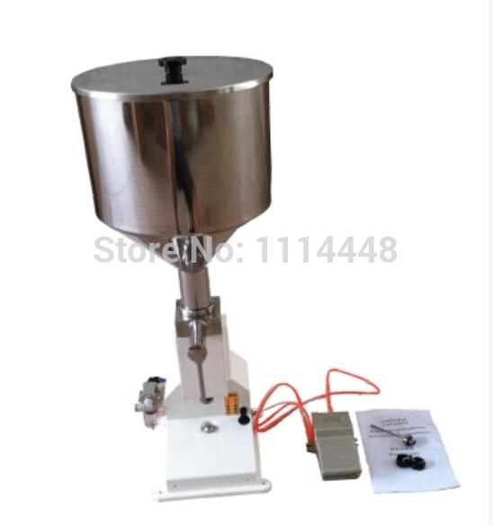 [해외]고품질 공기 화장품 붙여 넣기 액체 충??전 기계 크림 필러 1-10ml/High quality pneumatic cosmetic paste liquid filling machine cream filler 1-10ml