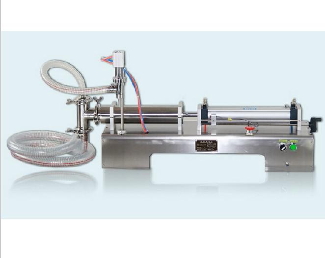 [해외]5-100ml 단일 머리 가로 공기 액체 필러 샴푸 물/5-100ml Single head horizontal pneumatic liquid Filler shampoo water