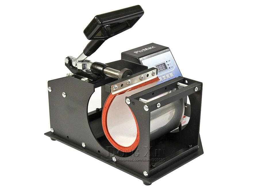 [해외] 1in1 머그잔 승화 프레스 기계 DX-021 디지털 컵 머그잔 열 기계 승화 머그컵을 눌러 인쇄를 전송/Free shipping 1in1 Mug sublimation press machine DX-021 Digital Cup Mug Heat transfer