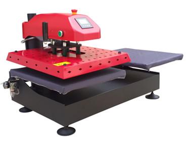 [해외]공압 나가던 열 프레스 기계 듀얼 보호 커버/pneumatic swinger heat press machine  double protector cover