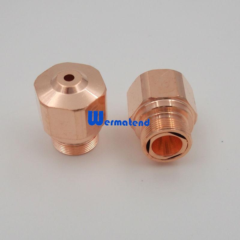 [해외]바이스 트로닉 기계  10PCS / 많은 NK10 NK12 NK15 NK17 NK20 NK25 노즐 고압/10pcs/lot NK10 NK12 NK15 NK17 NK20 NK25 Nozzle high pressure for Bystronic machine Free