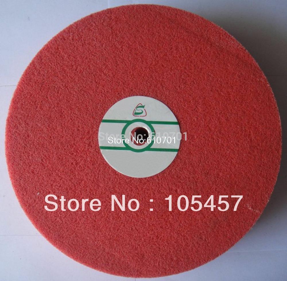 [해외]섬유 연마 버프 연마 휠 (180) 모래 나일론 연마 250mm 직경 25mm의 두께 경도 : 5P/Fiber Polishing Buffing Wheel 180 Grit Nylon Abrasive 250mm Dia 25mm Thickness Hardness:5P