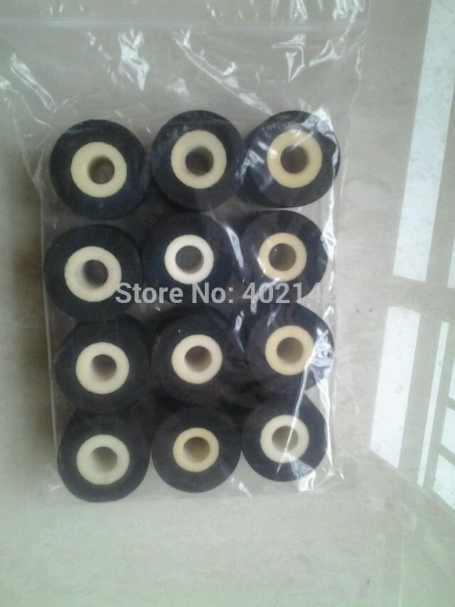 [해외]고체 잉크 밴드 실러에 대한 , 100PCS / 많은 36 * 16mm 검정 잉크 롤러 / 밴드는 기계 / 잉크 롤러 씰링 기계를 씰링/Free shipping,100pcs/lot  36*16mm Black Ink roller for solid ink band