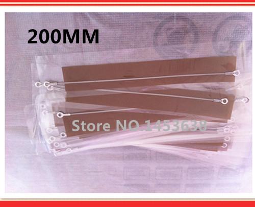 [해외]200mm 임펄스 실러 예비 부품 핸드 실러 테프론 벨트 열선, 200mm 핸드 실러에 대한 난방 와이어 히터 요소/200mm impulse sealer spare parts hand sealer teflon belt + heat wire,Heating wire