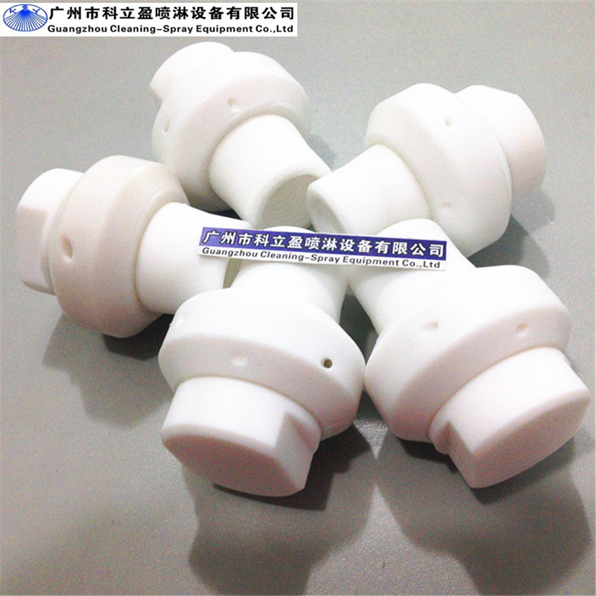 [해외]3 / 4 및 PTFE 물 스프레이 노즐, 부식 환경에 대한 우수/Excellent for corrosive environments, 3/4& PTFE water spray nozzles