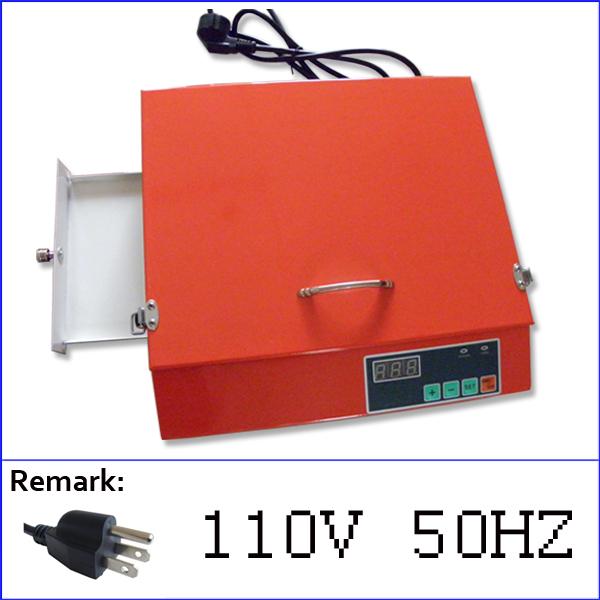 [해외]TAMPO 인쇄 미국 오렌지 컬러 미니 포토 폴리머 노출 units10 조각 폴리머 판 100 배 215mm에 /voltage 110V orange color mini photopolymer exposure units