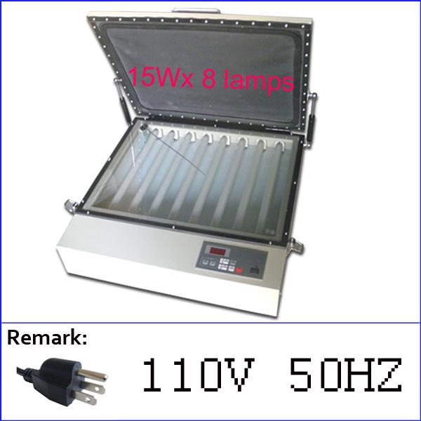 [해외]실크 스크린 노출 장치, uv 노출 장치, 진공 노출 장치 무료 배송