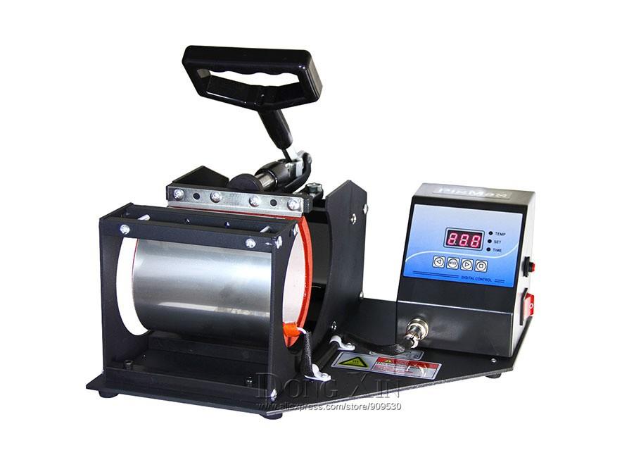 [해외]컵 머그컵 인쇄 승화 기계 multifuntional 열 프레스 머신 DX-021  1in1 열 전달 프레스 기계/Free shipping 1in1 heat transfer press machine for Cup Mug printing sublimation ma