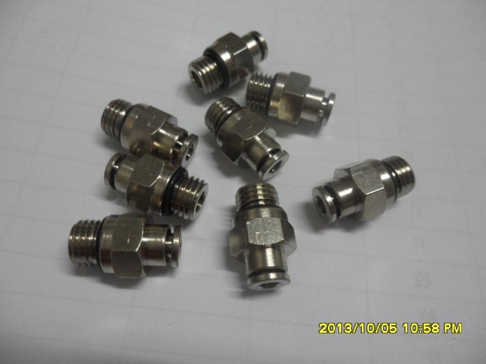 [해외]산 토니 원활한 속옷 기계 SM8- TOP2MP 오일 탱크 푸시 - 인 커넥터 LBSA042/Santoni Seamless Underwear Machine SM8- TOP2MP Oil Tank Push-In Connector LBSA042