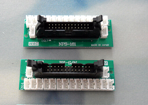 [해외]산 토니 원활한 속옷 기계 SM8-TOP1 / SM8-TOP2 사용 WAC 선택기 보드 0,379,034 연결/Santoni Seamless Underwear Machine SM8-TOP1 / SM8-TOP2 Use Wac Selector Connecting B