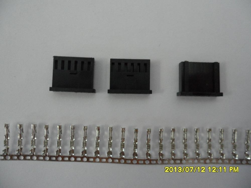 [해외]산 토니 원활한 속옷 기계 SM8-TOP2 / SM8-TOP1 사용 AMP Plug1X6 커넥터/Santoni Seamless Underwear Machine SM8-TOP2 / SM8-TOP1 Use AMP Plug1X6 Connector