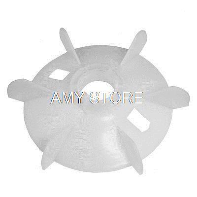 [해외]예비 부품 37mm 내부 직경 6 베인 임펠러 플라스틱 모터 팬 블레이드 휠/Spare Part 37mm Inner Diameter 6 Vanes Impeller Plastic Motor Fan Blade Wheel