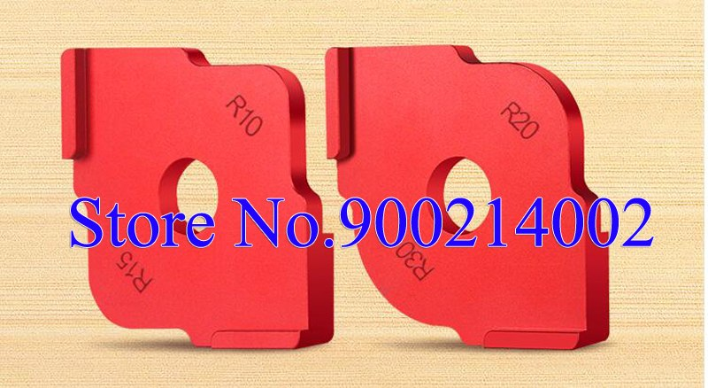 [해외]R10 R15 R20 R30 목공 하프 필렛 신속 포지셔닝 템플릿 원형 타격 핸드 툴 부품/R10 R15 R20 R30 Woodworking Half Fillet Rapid Positioning Templates Round Targeting Hand Tool P