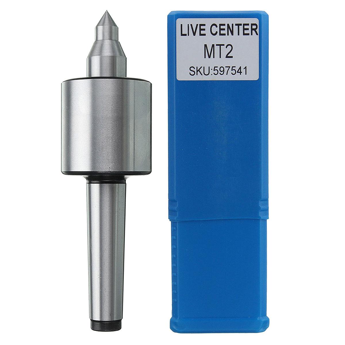 [해외]실버 MT2 스핀들 선반 라이브 센터 모스 테이퍼 CNC 공구 0.000197 인치 정밀/Silver MT2 Spindle Lathe Live Center Morse Taper CNC Tool 0.000197 Inch Precision