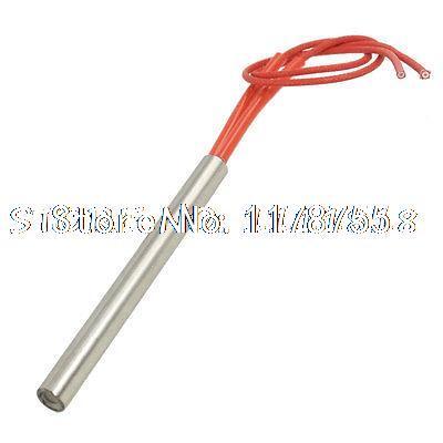 [해외]9.5 X 100mm AC 110V 300W 스테인레스 스틸 튜브 금형 카트리지 히터/9.5mm x 100mm AC 110V 300W Stainless Steel Tube Mould Cartridge Heater