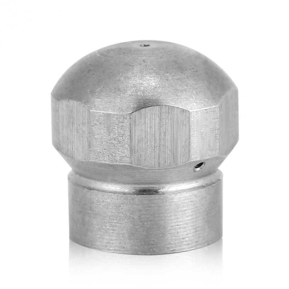 [해외]G1 / 8 && 고압 세척기 배수구 청소 노즐 호스 하수관 청소 노즐 분사구 구멍/G1/8&& High Pressure Washer Drain Cleaning Nozzle Hose Sewer Pipe Cleaning NozzleSpray Hole