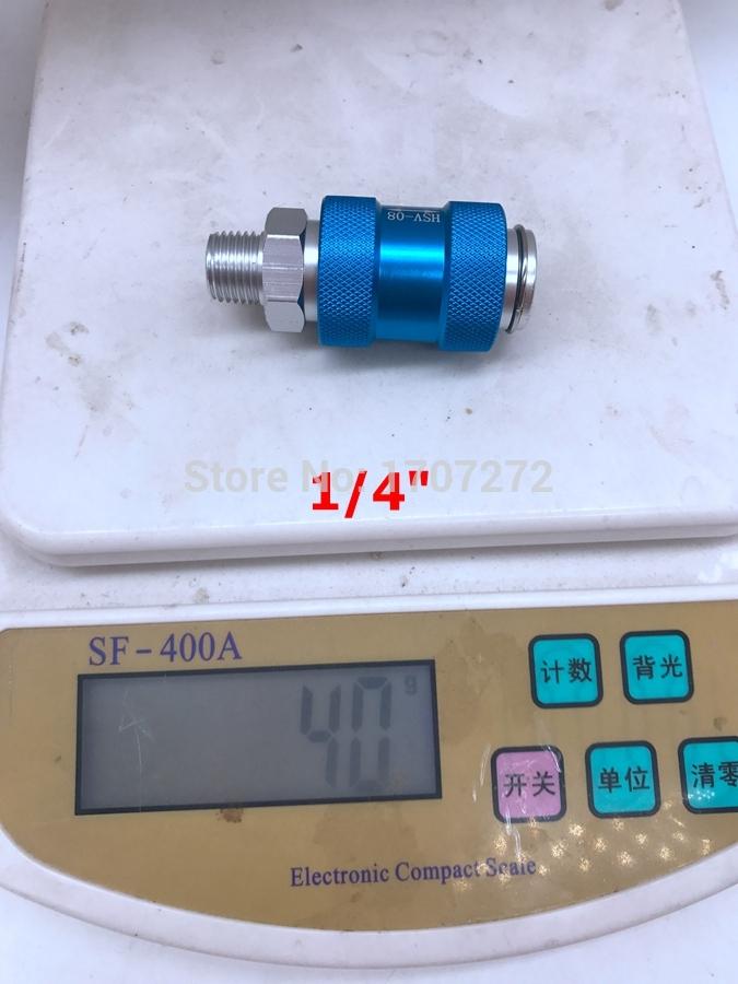 [해외]수동 푸시 핸드 배기 밸브 HSV - 08/10/15 슬라이드 스위치 1/8 1/4 3/8 1 / 2inch/Manual push hand exhaust valve HSV - 08/10/15 slide switch 1/8  1/4  3/8  1/2inch