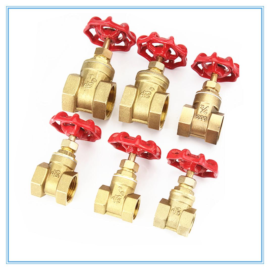 [해외]구리 게이트 밸브 DN15 20 25 급수 밸브 전환 밸브 내부 나사 게이트 밸브/Copper gate valves DN15 20 25 water valve switch valve Internal thread Gate valves