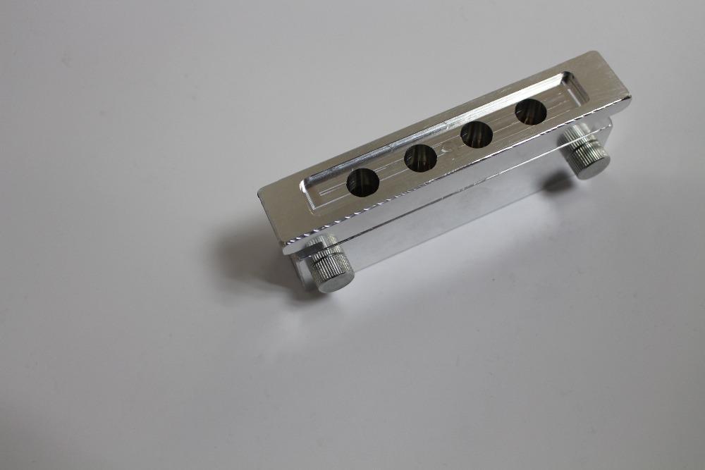 [해외]DIY 립밤 충전 용 알루미늄 립스틱 형은 4 공동/Aluminium lipstick mould 4 cavities for DIY lip balm filling