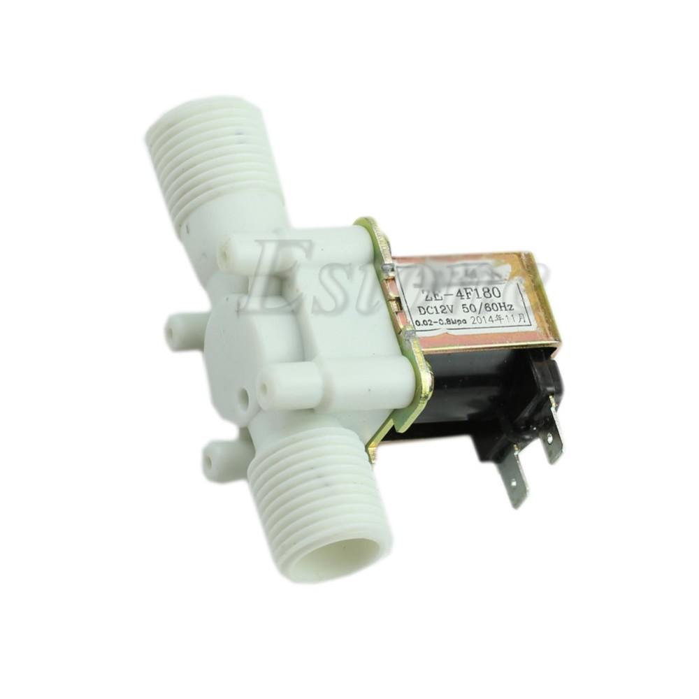 [해외]12V 전기 솔레노이드 밸브 자기 DC N / C 물 공기 흡입구 흐름 스위치 1 / 2 & -Y122/12V Electric Solenoid Valve Magnetic DC N/C Water Air Inlet Flow Switch 1/2&  -Y122