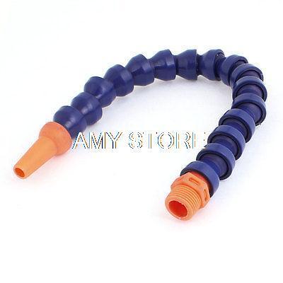 [해외]블루 오렌지 유연한 7mm 아울렛 팔분의 삼 & BSPT 스레드 커넥터 오일 냉각수 관/Blue Orange Flexible 7mm Outlet 3/8& BSPT Threaded Connector Oil Coolant Tube
