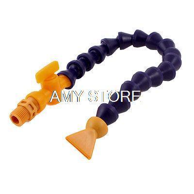 [해외]13 길이 다크 퍼플 오렌지 4분의 1 & BSPT 스레드 물 오일 냉각수 튜브/13& Length Dark Purple Orange 1/4& BSPT Thread Water Oil Coolant Tube