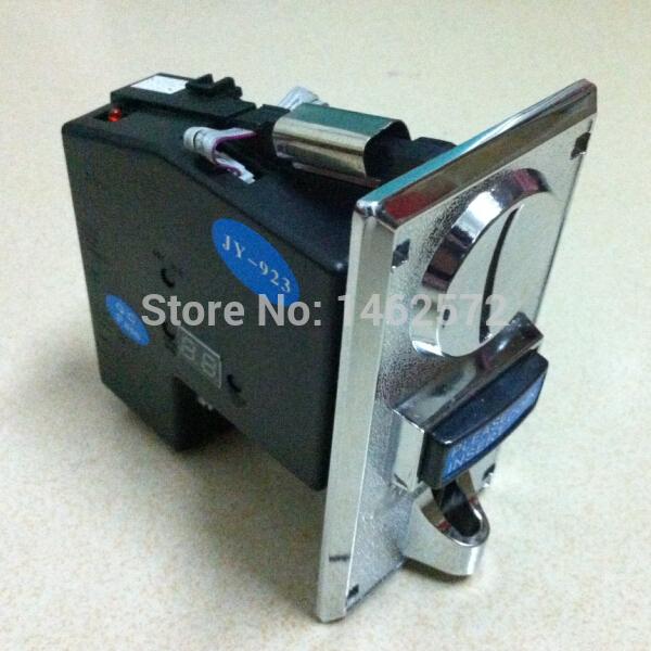 [해외]고급 아연 합금 전면 플레이트 CPU 멀티 동전 선택기 동전 채택 JY-923 자동 판매기 아케이드 mechine를 들어, 3 종류의 동전을 받아/Advanced Zinc Alloy Front Plate CPU Multi Coins Selector coin Ac