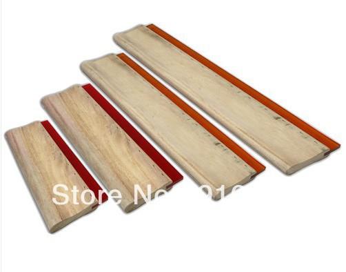[해외]빠른  4 개 인쇄 스퀴지 도구 재료를 화면 6.3 ~ / 9.4 ~ / 13 ~ / 18 ~ 16cm / 24cm / 33cm / 46cm/Fast Free shipping 4 pcs Screen Printing Squeegee Tools Materials