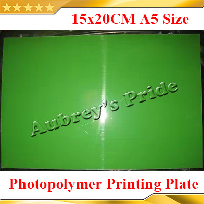 [해외]?1 시트 150x200mm의 상투적 만들기 자외선 노출 포토 폴리머 인쇄 플레이트 금형 A5 크기/ 1 Sheet 150x200mm  CliChe Making UV Exposure Photopolymer Printing Plate Mold A5 Size