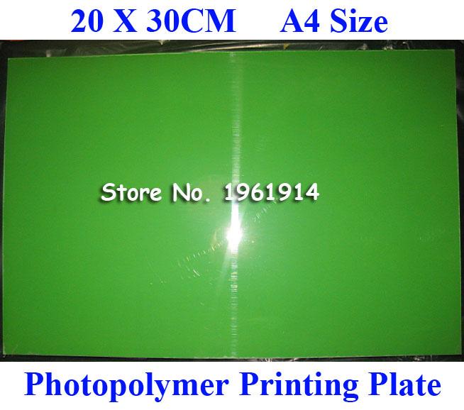 [해외]?20x30CM A4 크기의 상투적 인 자외선 노출 포토 폴리머 인쇄 플레이트 금형 만들기/ 20x30CM A4 Size CliChe Making UV Exposure Photopolymer Printing Plate Mold