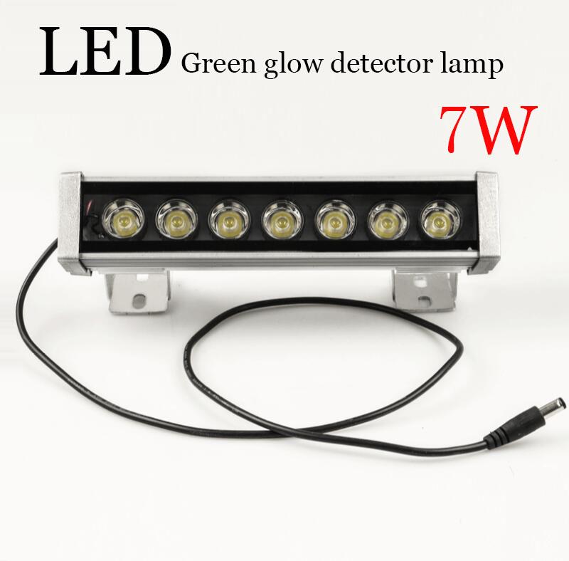 <span style=''>[해외]7W LED 녹색 글로우 검출기 램프, 지문, 먼지를 감지 할 수 . 조명 각도, ..</span>