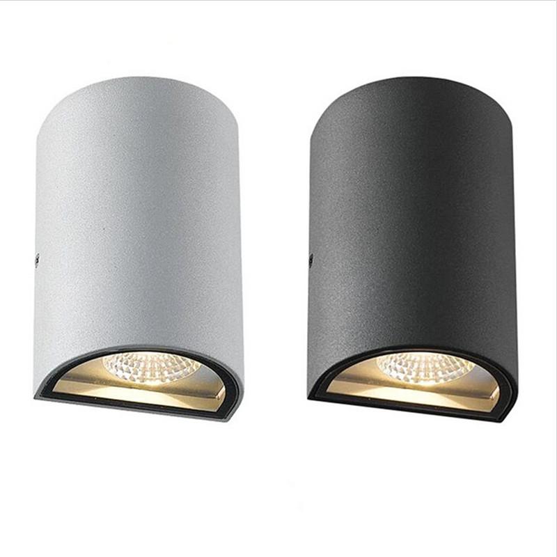 [해외]10W 옥외 LED 벽 램프 2 * 5W 방수 COB 실내 LED 벽 램프 조명 ...