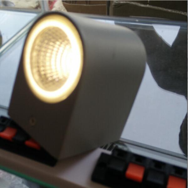 [해외]야외 벽 램프 AC85-265V 3W COB LED 벽 램프 IP54 방수 조명 현대 ...