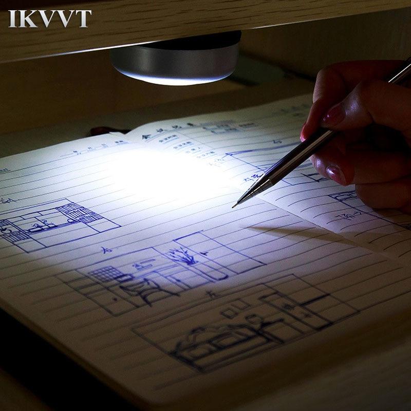 [해외]참신 책 라이트 붙여 넣기 옷장 독서 조명 자동차 팻 조명 크리 에이 티브 라운드 3LED 터치 팻 야간 조명/Novelty Book Light paste Wardrobe reading lights automotive pat lights Creative Roun