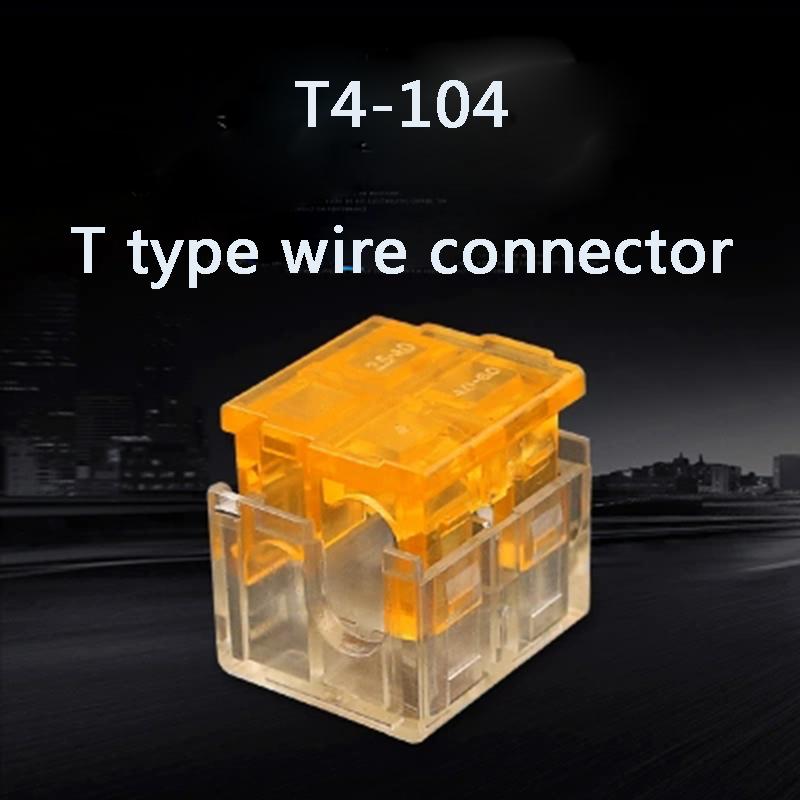[해외]삽입 선로 선로 10pcs T 유형 분기 와이어 빠른 조인트 범용 배선 연결 단자 커넥터 /Insert Line Shunt Wireway 10pcs T Type Branch Wire Fast Joint Universal wiring Connection Termi