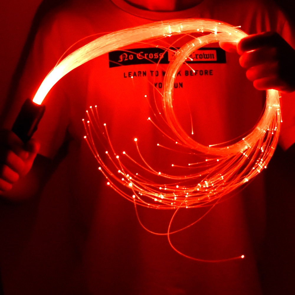 [해외]LED 광섬유 채찍 춤 360 학위 다색 광섬유 손전등 파티 표시 EDM 음악 축제/LED 광섬유 채찍 춤 360 학위 다색 광섬유 손전등 파티 표시 EDM 음악 축제