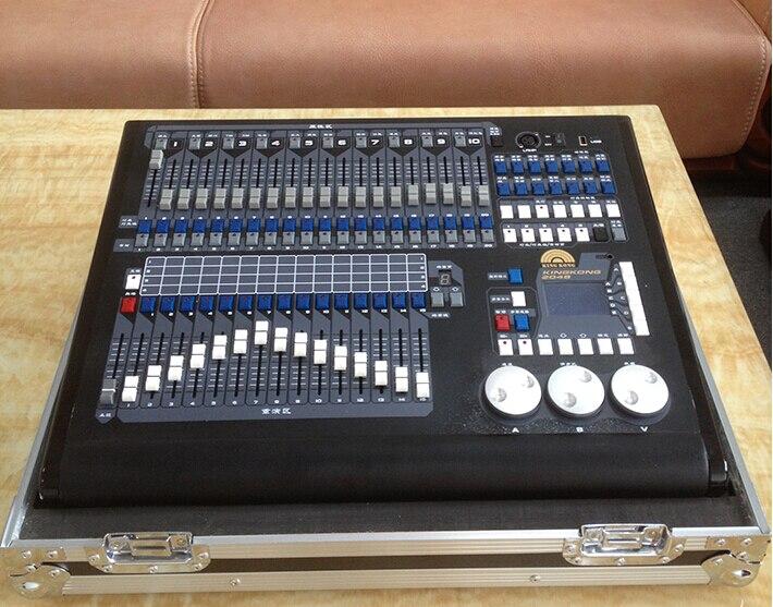 [해외]Kingkong DMX 512/1990 표준 KK - 2048P DMX 컨트롤러, 2048P DMX 콘솔, 무대 조명 DMX 제어 SystemFlight 케이스/Kingkong DMX 512/1990 Standard KK-2048P DMX Controller,2