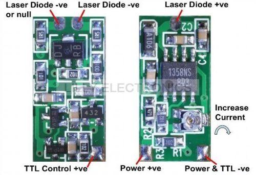 [해외]808nm 980nm 레이저 다이오드 모듈 용 전원 공급 장치 드라이버 보드/808nm 980nm 레이저 다이오드 모듈 용 전원 공급 장치 드라이버 보드