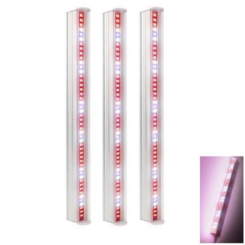 [해외]3 개/몫 96 leds t5 튜브 led 성장 라이트 바 29cm 수경 led 빛 전체 스펙트럼 식물 램프 꽃 모 종 fitolampy/3 개/몫 96 leds t5 튜브 led 성장 라이트 바 29cm 수경 led 빛 전체 스펙트럼 식물 램