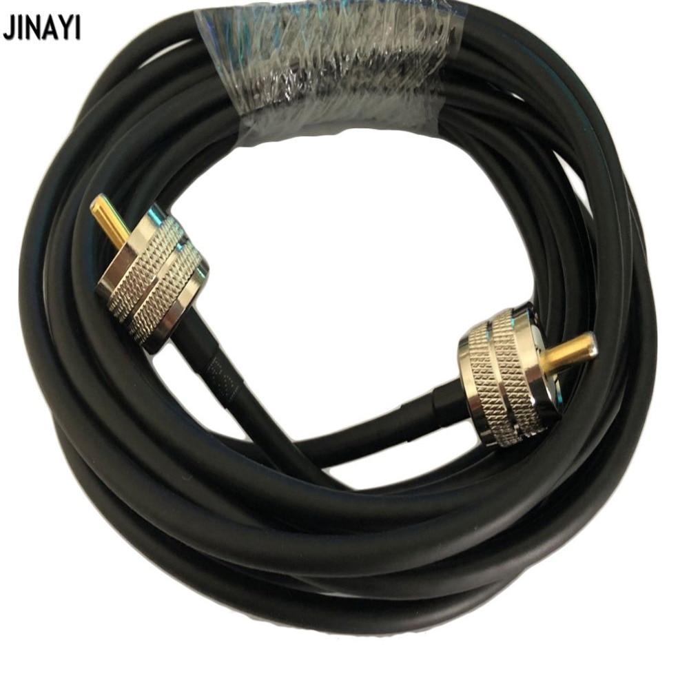 [해외]Rg58 50-3 동축 케이블 pl259 uhf 남성 uhf 남성 커넥터 rf 어댑터 동축 햄 라디오 케이블 50ohm 1/3/5 m 10 m 15 m 20 m/Rg58 50-3 동축 케이블 pl259 uhf 남성 uhf 남성 커넥터 rf 어댑