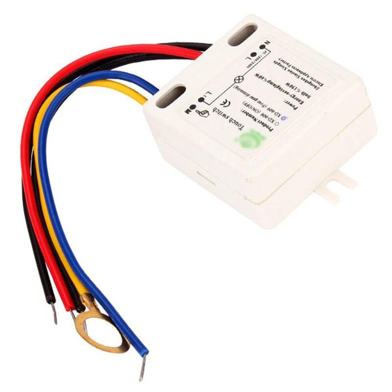 [해외]실용적인 XD-609 5-150 w 4 모드 on/off 터치 스위치 센서 220 v 백열 램프-m25/실용적인 XD-609 5-150 w 4 모드 on/off 터치 스위치 센서 220 v 백열 램프-m25